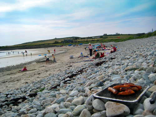BBQ on Rhoscolyn Beach